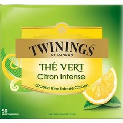 Twinings Green lemon envelop (50 stuks)