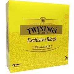 Twinings Exclusive black tea envelop (100 stuks)