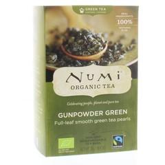 Numi Green tea heaven gunpowder (18 zakjes)