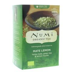 Numi Green tea rainforest mate lemon (18 zakjes)