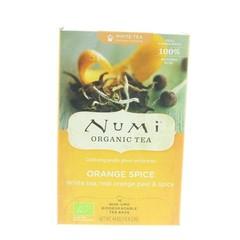Numi Witte thee orange spice (16 zakjes)