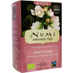Numi Witte thee white rose (16 zakjes)