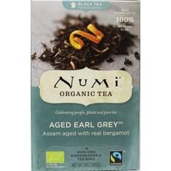 Numi Zwart thee earl grey bergamot assorti (18 zakjes)