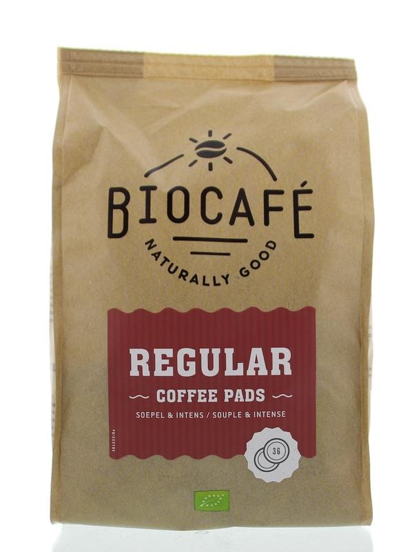 Biocafe Biocafe Coffee pads regular (36 stuks)