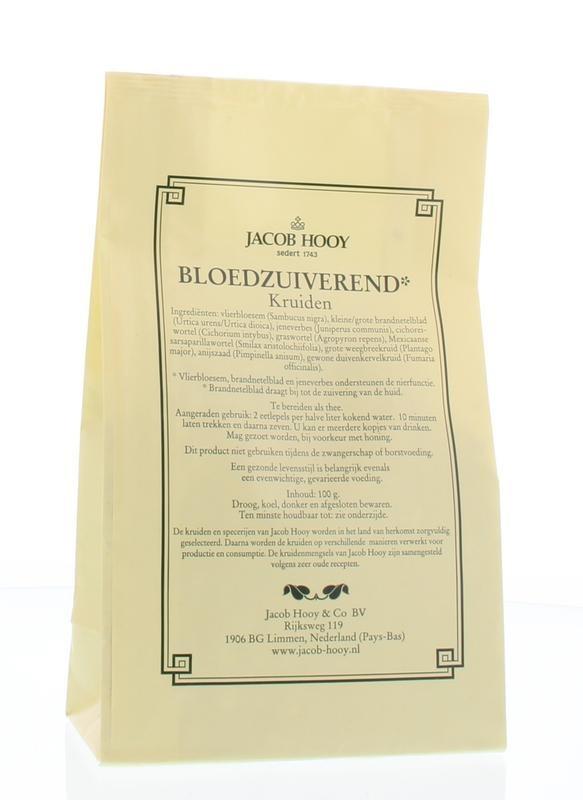 Jacob Hooy Jacob Hooy Bloedzuiverende thee (100 gram)