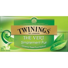 Twinings Pure green tea (25 zakjes)