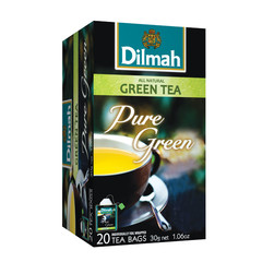 Dilmah All natural green tea pure (20 zakjes)