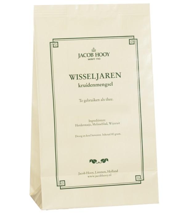 Jacob Hooy Jacob Hooy Wisseljaren kruidenthee (80 gram)