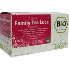 Bio Friends Family tea luca bio (20 zakjes)
