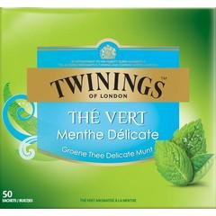 Twinings Green mint (50 zakjes)