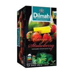 Dilmah Mango strawberry (20 zakjes)