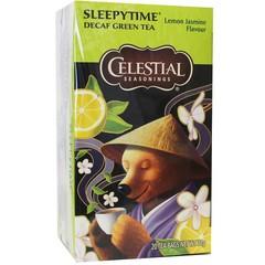 Celestial Season Sleepytime decaf green tea lemon jasmine (20 zakjes)