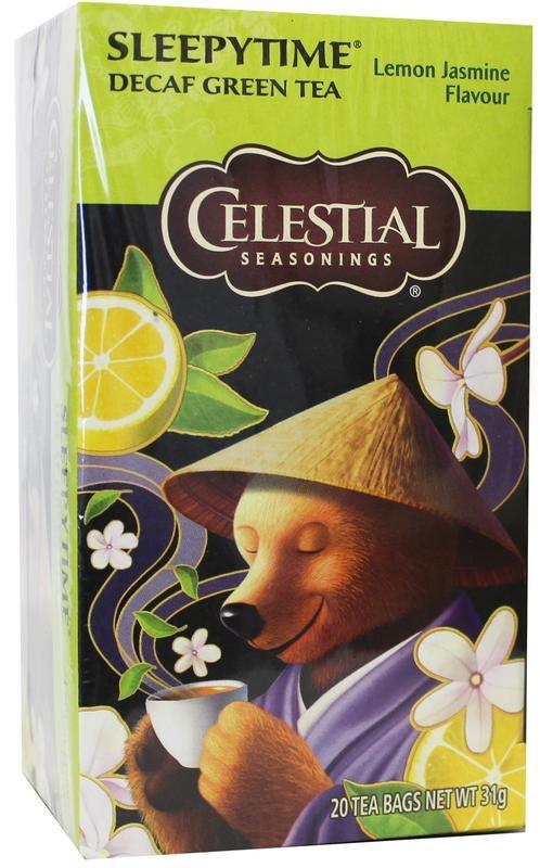 Celestial Season Celestial Season Sleepytime decaf green tea lemon jasmine (20 zakjes)
