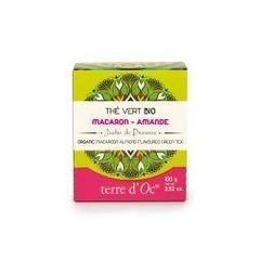 Terre Doc Groene thee macaroon/amandel (100 gram)