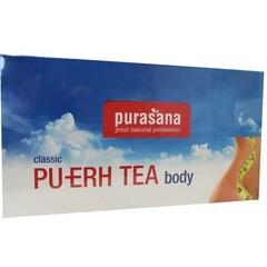 Purasana Pu erh theebuiltjes (96 stuks)