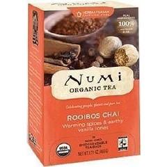 Numi Tea rooibos chai (18 zakjes)