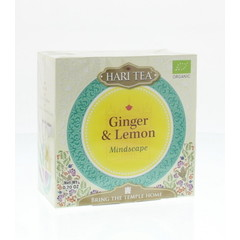 Hari Tea Mindscape ginger & lemon (10 stuks)