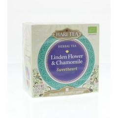 Hari Tea Sweetheart lindebloesem & kamille (10 stuks)