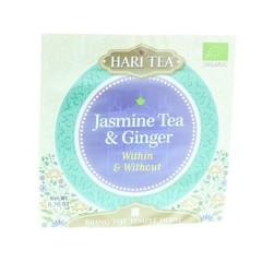 Hari Tea Tea within & without jasmine tea & ginger (10 stuks)