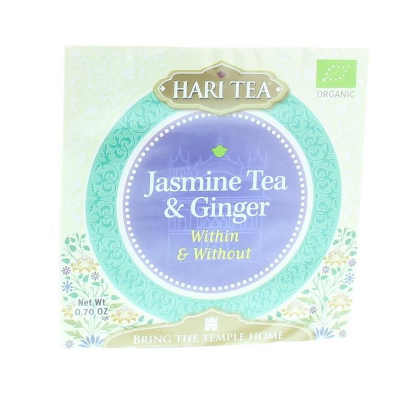 Hari Tea Hari Tea Tea within & without jasmine tea & ginger (10 stuks)