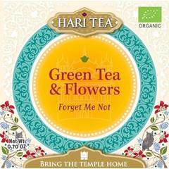 Hari Tea Forget me not green tea & flower (10 stuks)