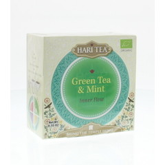 Hari Tea Inner flow green tea & mint (10 stuks)