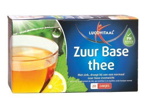 Lucovitaal Zuurbase thee (20 zakjes)