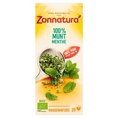 Zonnatura Munt thee bio (20 zakjes)