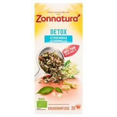 Zonnatura Detox citroengras (20 zakjes)