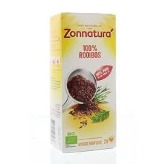 Zonnatura Rooibos thee bio (20 zakjes)