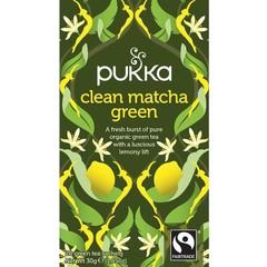Pukka Org. Teas Clean matcha green (20 zakjes)
