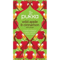 Pukka Org. Teas Wild apple & cinnamon (20 zakjes)