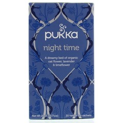Pukka Org. Teas Night time thee (20 zakjes)