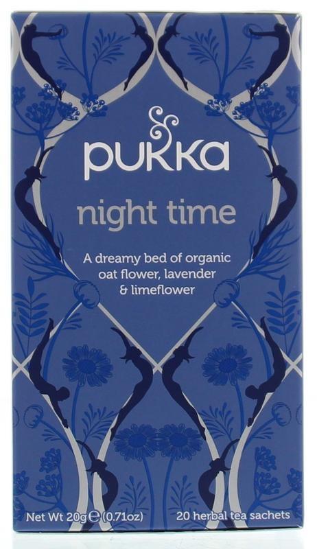 Pukka Org. Teas Night time thee (20 zakjes)