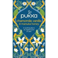 Pukka Org. Teas Chamomile vanille/manuka honing (20 zakjes)