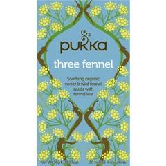 Pukka Org. Teas Three fennel (20 zakjes)
