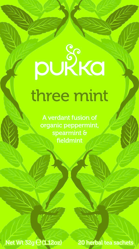 Pukka Org. Teas Three mint (20 zakjes)