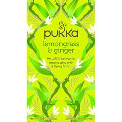 Pukka Org. Teas Lemongrass & ginger thee (20 zakjes)