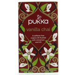 Pukka Org. Teas Vanille chai tea (20 zakjes)