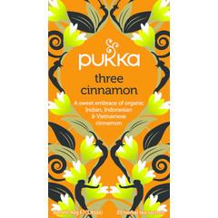 Pukka Org. Teas Three cinnamon (20 zakjes)