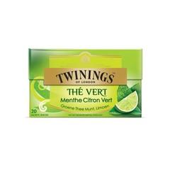 Twinings Groene munt limoen (20 zakjes)