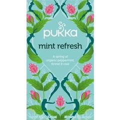 Pukka Org. Teas Mint refresh thee (20 zakjes)
