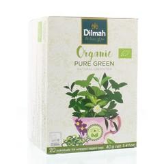 Dilmah Pure green biologisch (20 stuks)