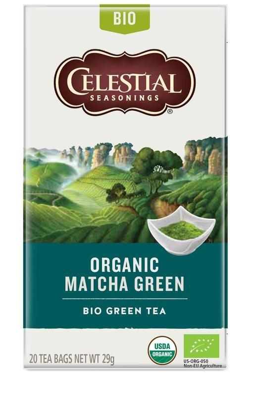 Celestial Season Celestial Season Organic matcha green (20 stuks)