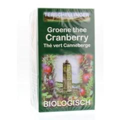Terschellinger Groene thee cranberry (20 zakjes)