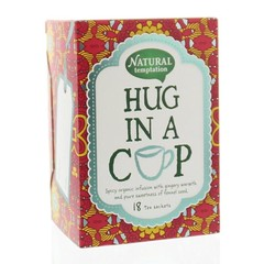 Nat Temptation Hug in a cup thee eko (18 zakjes)