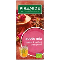 Piramide Zoete mix thee eko (20 zakjes)