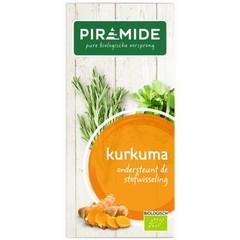 Piramide Kurkuma thee (20 stuks)