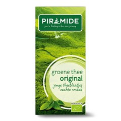 Piramide Groene thee eko original (20 zakjes)