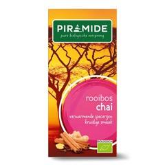 Piramide Chai rooibos thee bio (20 stuks)
